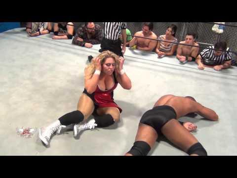 FREE MATCH Intergender Match Brooke Danielle v Darius Carter II W.O.W Unreleased Vol 11