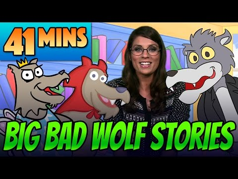 Pinocchio Little Red Riding Hood & Other Big Bad Wolf Fairy Tale Stories Compilation