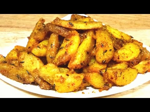 Aloo ki Sukhi Sabzi /Indian Dry Potato Recipe for Traveling / Vegan recipes and Easy for Beginners