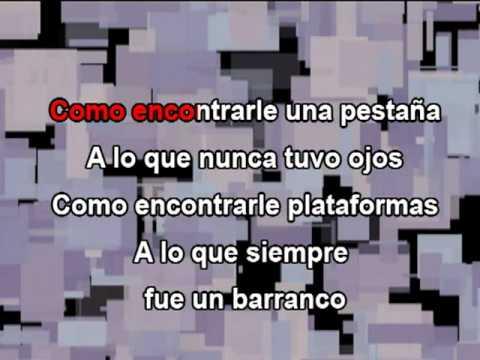 El Problema Ricardo Arjona Karaoke