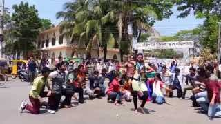 Barisal youngsters' T20 Flash Mob