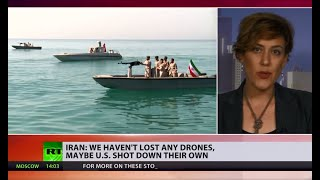Tensions escalate as Iran denies US claims of shooting down Iranian drone