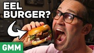 Shake Shack Eel Burger Taste Test