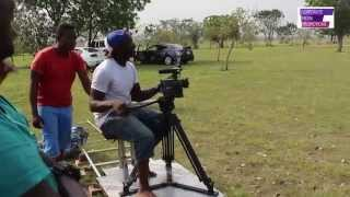 Behind The Scenes (BTS) with Rapper Edem