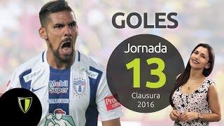 GOLES Jornada 13 - Liga Mx CL 2016