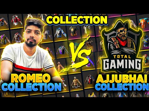 Ajjubhai Vs Romeo Gamer Funniest Collection Who Will Win 😱 Garena Free Fire