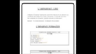 FRANCÉS - Nivel II - LECCIÓN 1 - L' imparfait -- Explicación audiovisual + descarga.