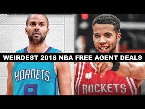Xxx Mp4 5 Weirdest Signings Of NBA Free Agency 2018 3gp Sex