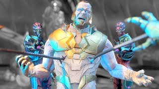 Injustice 2 All GOD Super Moves on GOD Darkseid (No HUD) 4k UHD 2160p