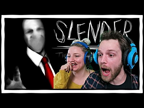 Slender With My Girlfriend! YuB & Meg Play Slender: The Eight Pages