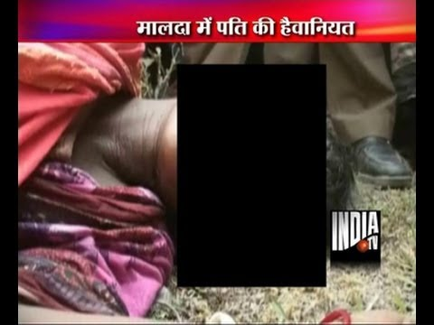 Bangladeshi woman's eyes gouge-out by her husband in Malda