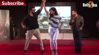 Katrina Kaif Hot Dance With VJ At Phantom Promotion | Bolly2Box
