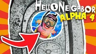 WHAT IS BEHIND THE NEIGHBOR'S SECRET VAULT DOOR IN HELLO NEIGHBOR ALPHA 4!?   Hello Neighbor