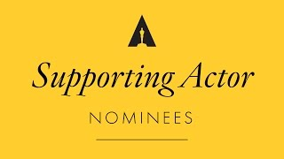 Oscars 2017: Performance by an Actor in a Supporting Role Nominees