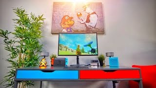 The Custom Nintendo Switch Gaming Desk