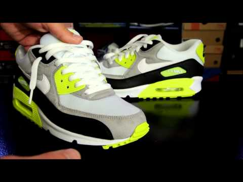 Xxx Mp4 Nike Air Max 90 Black White Medium Grey Volt How To Lace Your Sneakers 3gp Sex