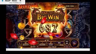 iHABA Dragon's Throne Slot Game │ibet6888.com