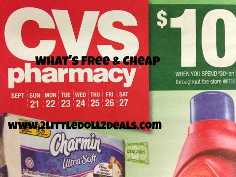 CVS Sales Circular Preview w/ Free and Cheap Items 9/21/14 to 9/27/14