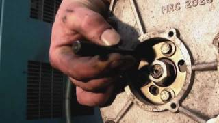 Bosch VE Pump timing check with cover plate on  -  Land Rover 200tdi and 300tdi diesel engines