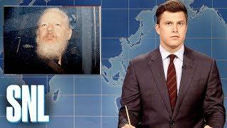 Weekend Update: Julian Assange Arrested - SNL