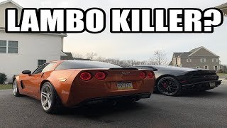 Can A $35,000 C6 Z06 Beat SuperCars? *Excited*