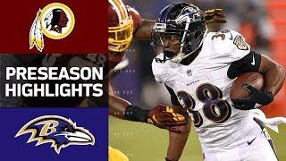Redskins vs. Ravens | NFL Preseason Week 1 Game Highlights