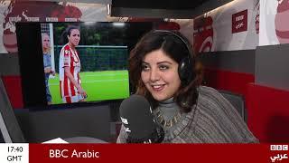 لقاء حصري مع سارة عصام لاعبة كرة القدم المصرية التي فازت بجائزة أفضل رياضية لعام 2018