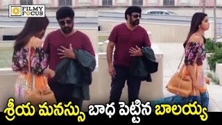 NBK 101 Movie Making || Shriya Annoyed by Balakrishna || Puri Jagannadh - Filmyfocus.com