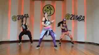 Coreografia Exclusiva da Zumba :: Chantaje (by Shakira feat. Maluma)