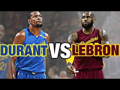 LeBron James VS Kevin Durant Epic