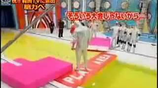 Funny Japanese Game Show - Human Tetris