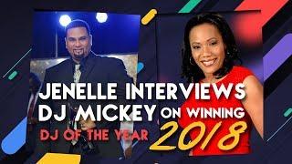 Jenelle Brathwaite Israel talks with DJ Mickey @djmickeyintl