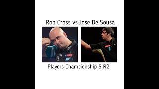 Rob Cross Vs Jose De Sousa Players Championship 5 R2