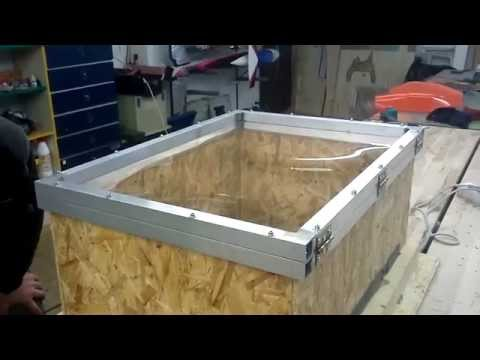vacuum forming a windshield for my heim bell 222 vidoemo emotional video unity. Black Bedroom Furniture Sets. Home Design Ideas