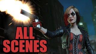 Telltale BATMAN The Enemy Within - All Harley Quinn Scenes