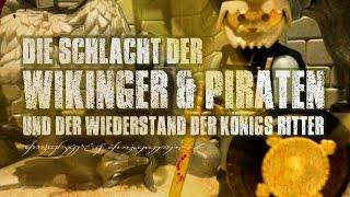 Die Schlacht der Wikinger + Piraten und der Wiederstand der Königs  Ritter   Playmobil Stop Motion