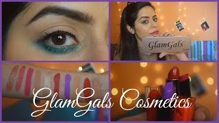 GlamGals Cosmetics India Try on Haul & Ist Impression  indian Youtuber 