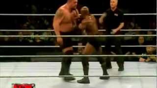 Bobby Lashley vs Big Show ECW 12-5-06 Highlights