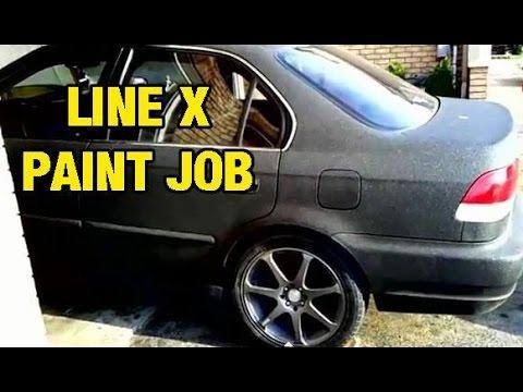 Xxx Mp4 Line X Paint Job On 1997 Honda Civic 3gp Sex