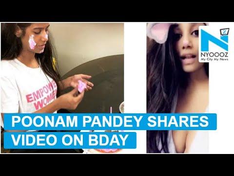 Xxx Mp4 Poonam Pandey Shares SEXY Video On Her Birthday NYOOOZ TV 3gp Sex
