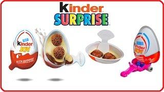 Surprise Eggs Toys Lego Kinder Joy Surprise Eggs for Boys