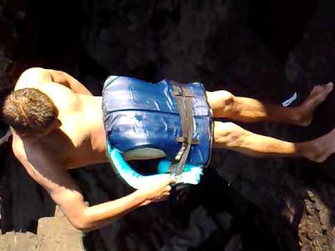 Isa pelado no Rio das Antas