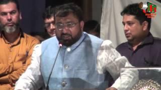 Speech by Abdul Rauf Khan Saahab, Tamsili Mushaira, 2015, Rafiuddin Fakih School, Bhiwandi