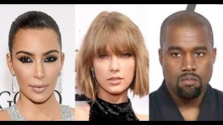 Kim Kardashian Leaks Audio Of Taylor Swift Approving Kanye West