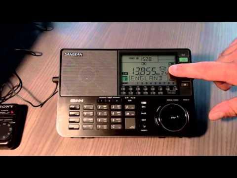 Sangean ATS 909X Bedside Radio