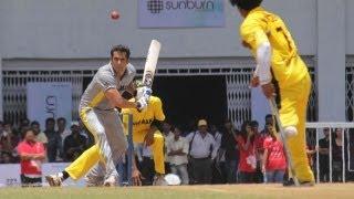 Salman Khan At Charity Cricket Match!