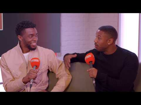 Black Panther stars on filming with no clothes, and more!