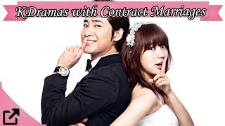 Top Korean Dramas with Contract Marriages 2018