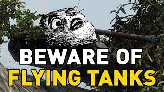 World of Tanks || Beware of Flying Tanks