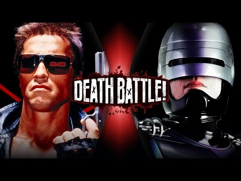 Terminator VS RoboCop DEATH BATTLE ScrewAttack